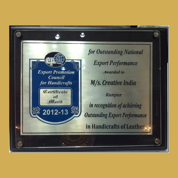 Export Promotion Council For Handicrafts 2012 13 Creative India