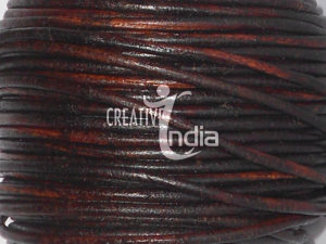 PLAIN ROUND LEATHER CORDS