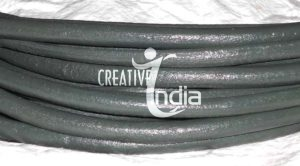 Semi Round Leather Cords, Half Round Leather Cords